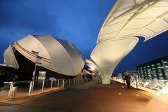 Milan Expo German exhibition hall Stock Photos