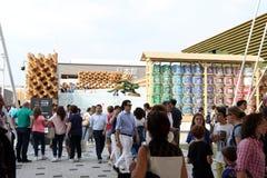 Milan expo,italy Stock Photography