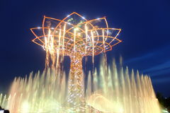 Milan expo tree of life. Milan expo world fair tree of life royalty free stock photos