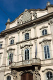 Milan - Facade of baroque Palazzo Litta Royalty Free Stock Photos