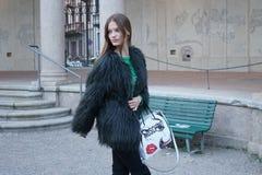 Milan fashion week day 2 Royalty Free Stock Image