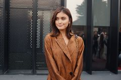 Milan fashion week day 2 Royalty Free Stock Images