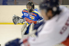 MILAN, FEBRUARY 04: H.C. Milan RedBlue - H.C. Eppa Stock Photos