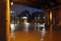 Milan the fiume seveso flood Stock Photos