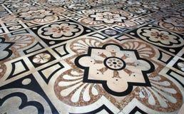 Milan - floor of Dom Stock Images