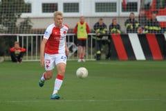 Milan Frydrych - Slavia Prague Stock Photo
