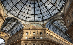 Milan Gallary Vittorio Emanuele Royalty Free Stock Photo