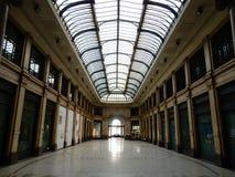 Milan - Galleria Meravigli royaltyfri foto