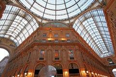 Milan, Galleria Vittorio photos stock