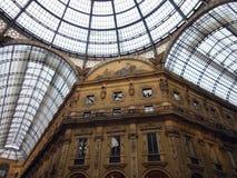 Milan. Galleria Vittorio Emanuele II in Milano, Italy Royalty Free Stock Images