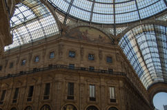 Milan 4. The Galleria Vittorio Emanuele II is one of the worlds oldest shopping malls Royalty Free Stock Images