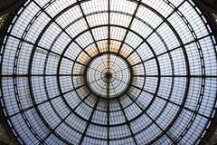 Milan gallery dome Royalty Free Stock Image