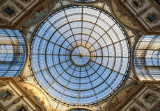 Milan gallery Royalty Free Stock Photography