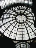 Milan gallery roof Stock Photo