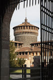 Milan - gate of Sforza castle Royalty Free Stock Images