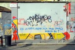Milan Graffiti Stock Image