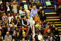 Milan Gymnastic Grand Prix 2008 Stock Images