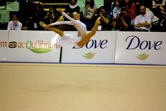Milan Gymnastic Grand Prix 2008 Royalty Free Stock Photos