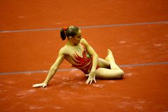 Milan Gymnastic Grand Prix 2008 Royalty Free Stock Image