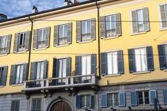 Milan: historic palace Royalty Free Stock Image