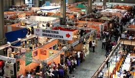 Milan hobby show 2009 stock photos