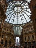 Milan i summerday Arkivbild