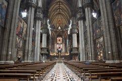 Milan - indoor of Duomo Royalty Free Stock Image