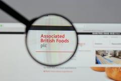 Milan, Italie - 10 août 2017 : Logo britannique associé o de nourritures Photos stock