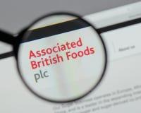 Milan, Italie - 10 août 2017 : Logo britannique associé o de nourritures Photographie stock libre de droits