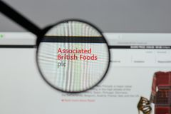 Milan, Italie - 10 août 2017 : Logo britannique associé o de nourritures Photo stock