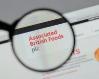 Milan, Italie - 10 août 2017 : Logo britannique associé o de nourritures Photos libres de droits