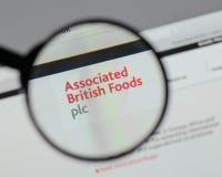 Milan, Italie - 10 août 2017 : Logo britannique associé o de nourritures Image stock