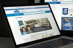 Milan, Italie - 10 août 2017 : Page d'accueil de site Web de Lowe's C'est a Photo stock
