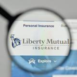 Milan, Italie - 1er novembre 2017 : Liberty Mutual Insurance Group Images libres de droits