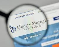 Milan, Italie - 1er novembre 2017 : Liberty Mutual Insurance Group Image stock