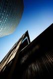 MILAN, ITALIE, LE 12 FÉVRIER 2015 : nouveaux bâtiments au secteur de Porta Garibaldi, Milan Photographie stock