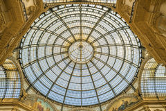 MILAN, ITALIE - 13-05-2017 : Puits Vittorio Emanuele II dans Mila Image libre de droits