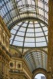 MILAN, ITALIE - 13-05-2017 : Puits Vittorio Emanuele II dans Mila Photos libres de droits
