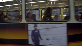Milan, Italie - 12 03 2019 : transport en commun de tram ? Milan clips vidéos