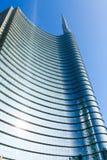 Milan, Italie, vue financière de secteur Photos stock