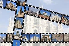 Milan Italien fotografering för bildbyråer