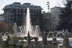 Milan (Italien): Citylife Royaltyfri Bild