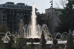 Milan (Italien): Citylife Arkivbild