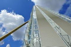 Milan Italien, Citylife ny skyskrapa Arkivbilder