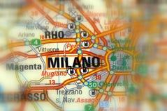Milan Italien - Europa fotografering för bildbyråer