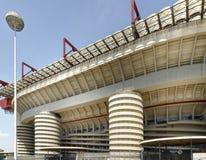 Milan Italien, San Siro fotbollsarena Royaltyfri Fotografi