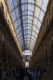 MILAN, ITALY - april 17th: Galleria Vittorio Emanuele in Milan Royalty Free Stock Photo
