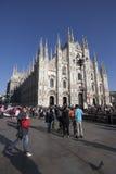 MILAN, ITALY - april 17th: Milan Cathedral Duomo di Milano Royalty Free Stock Images