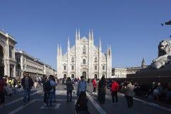MILAN, ITALY - april 17th: Milan Cathedral Duomo di Milano Stock Image