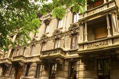 Milan Italy-architectuur Royalty-vrije Stock Afbeeldingen